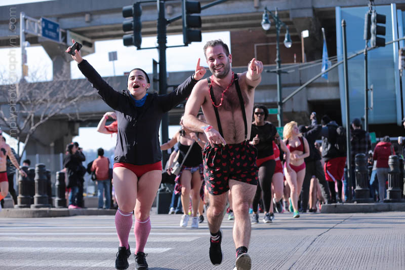 Cupid's Undie Run - NYC