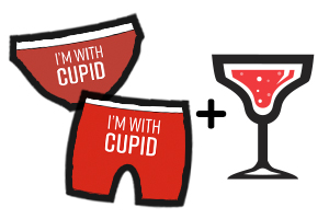 Cupid's Undie Run Rewards - Open Bar & Undies